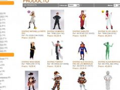 catalogo de disfraces infantiles la cucaña