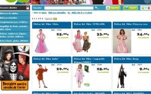 catalogo de disfraces para niños la golosina