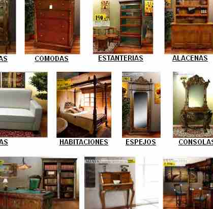 Cat logo de muebles coloniales y r sticos for Muebles por catalogo