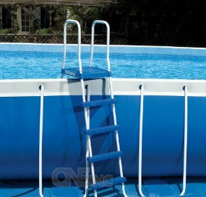 Escaleras para piscinas desmontables carrefour for Piscinas hinchables carrefour precios