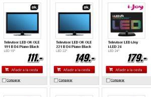 catálogo de ofertas de televisores madia markt