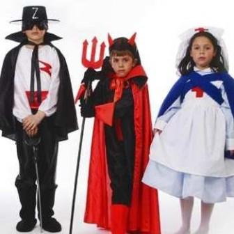 catálogo de disfraces para niños