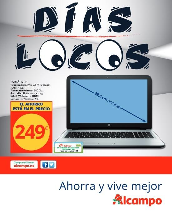 dias locos - catálogo alcampo enero