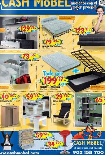 ver online catalogo de MUEBLES CASH MOBEL