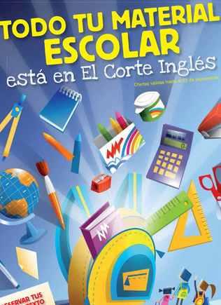 el corte inglés catalogo clases