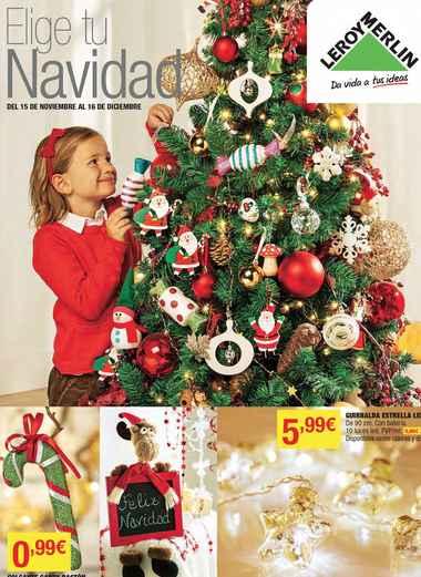 catálogo de Navidad LEROY MERLIN