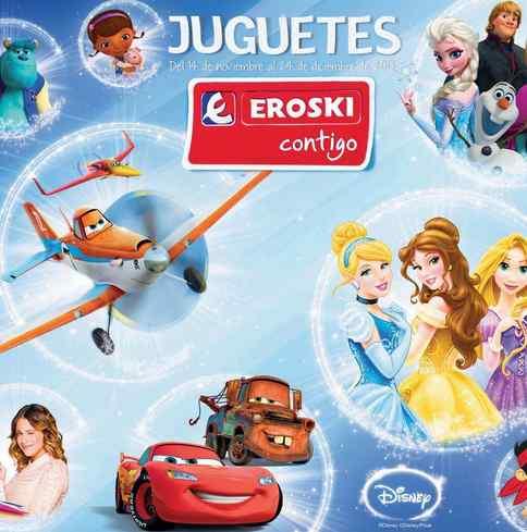 catalogo juguetes navidad eroski