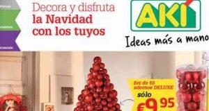 catalogo tienda AKI de navidad