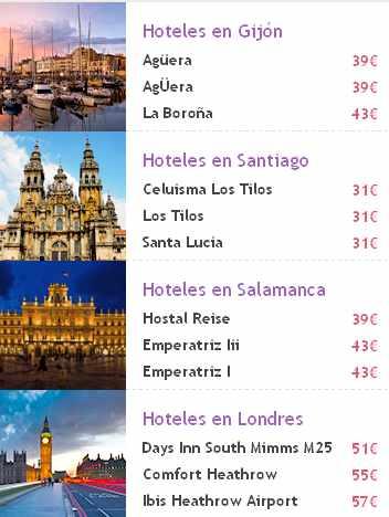 precios de hoteles - viajes eroski
