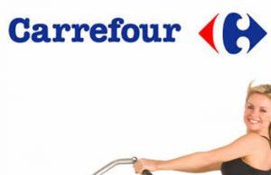 bicicletas fijas CARREFOUR