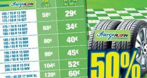 catalogo de precios neumáticos aurgi