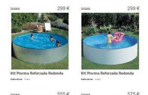 catalogo de piscinas eroski