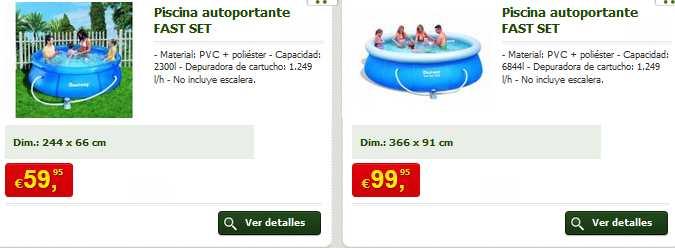 catalogo de precios piscinas aki