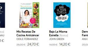 los 4 libros más vendidos del mes en el corte ingles