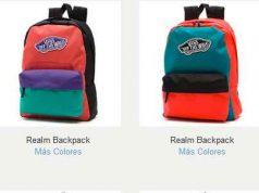 catalogo mochilas escolares vans con precio