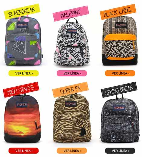 comprar mochilas jansport