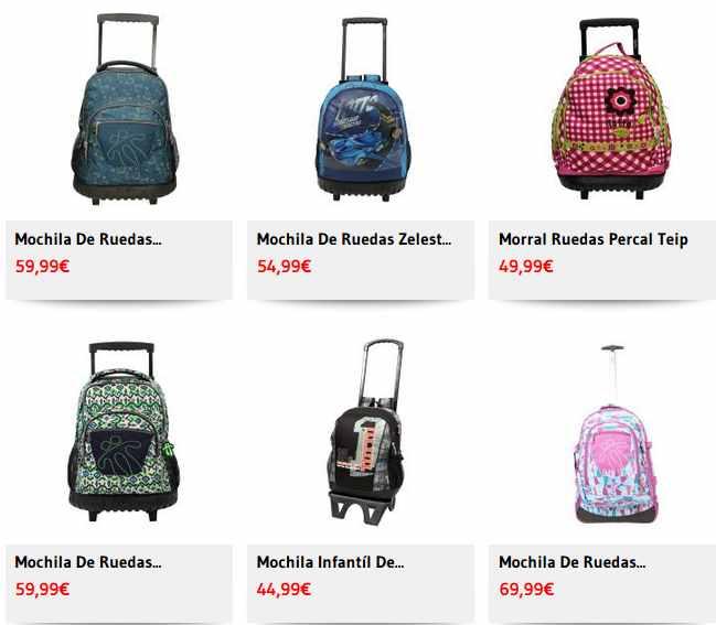 mochilas con ruedas catalogo