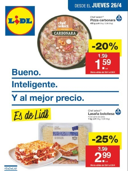 Lidl cat logo abril online cat logo 2018 for Catalogo lidl granada