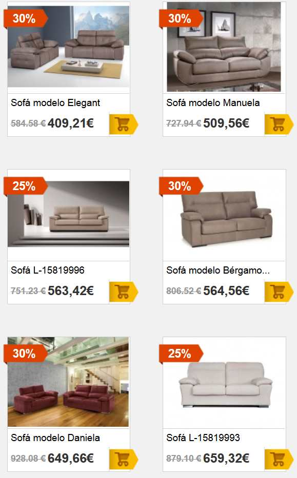 Cat logo de sofas en merkamueble cat logo 2018 for Catalogos de sofas y precios