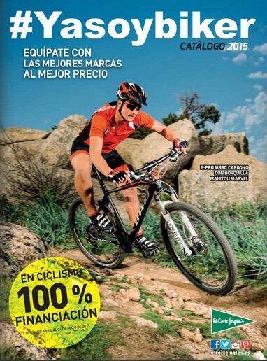 Nuevo catálogo de bicicletas – El Corte Inglés