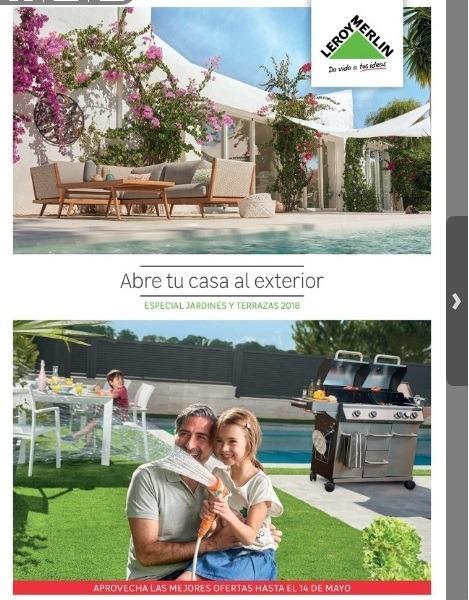 Nuevo Catálogo de Leroy Merlin-Terraza y Jardín