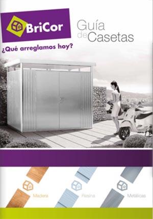 Nuevo catalogo bricor casetas descuentos for Casetas de madera bricor