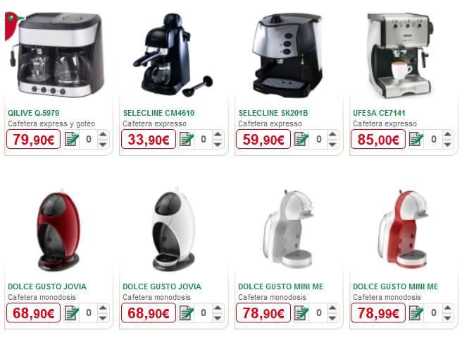 Compra Online Alcampo - Cafeteras alcampo - Expresso - Ver Todas