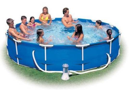 piscinas redondas -