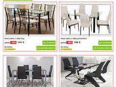 Cat logo de mesas y sillas en merkamueble cat logo 2017 - Merkamueble sillas ...