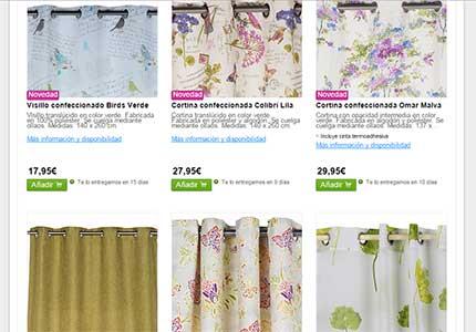 Las mejores cortinas leroy merlin precios for Catalogo de cortinas para cocina