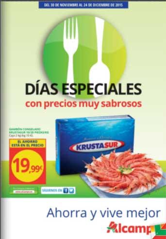 Dias especiales - precios sabrosos en ALCAMPO