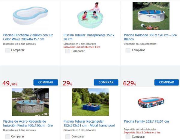 Nuevo cat logo carrefour de piscinas for Depuradora piscina carrefour