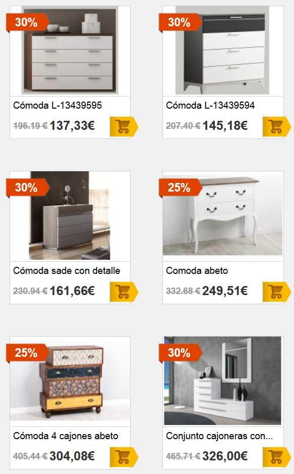 Nuevas ofertas de c modas en merkamueble cat logo 2018 - Catalogo ofertas merkamueble ...