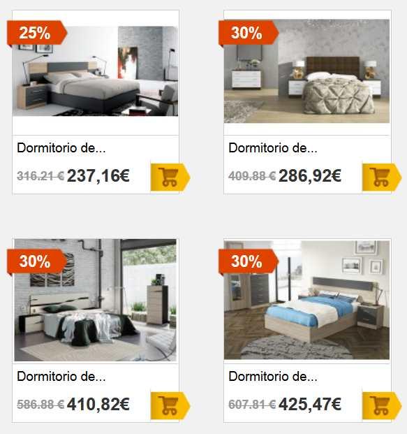 Dormitorios de matrimonio en merkamuebles cat logo 2018 for Catalogo de habitaciones de matrimonio