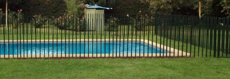 rejas plasticas para la piscina