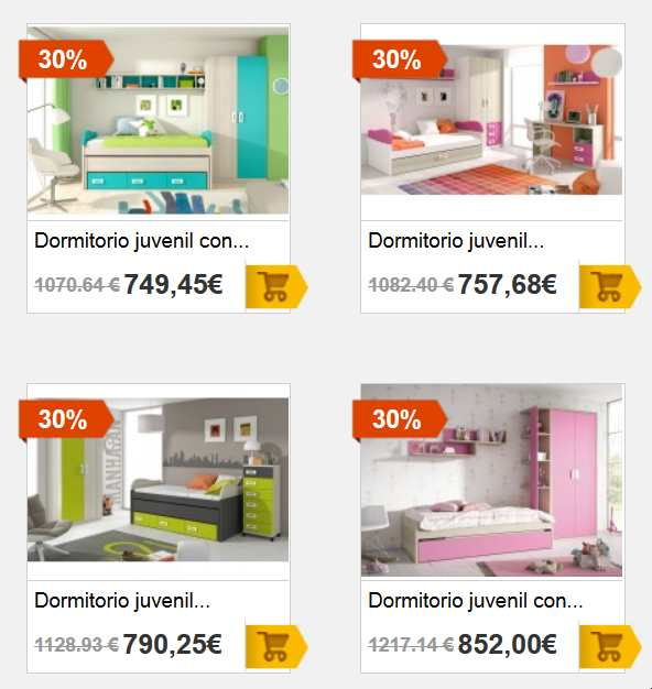 Dormitorios juveniles - Habitaciones Juveniles - Merkamueble-05-05