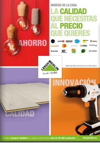 Marcas de la casa folleto leroy merlin cat logo 2017 for Folleto leroy merlin