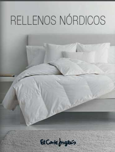 Rellenos nórdicos EL CORTE INGLÉS   Catálogo 2018