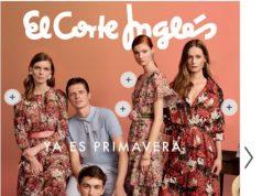 El corte inglés moda PRIMAVERA