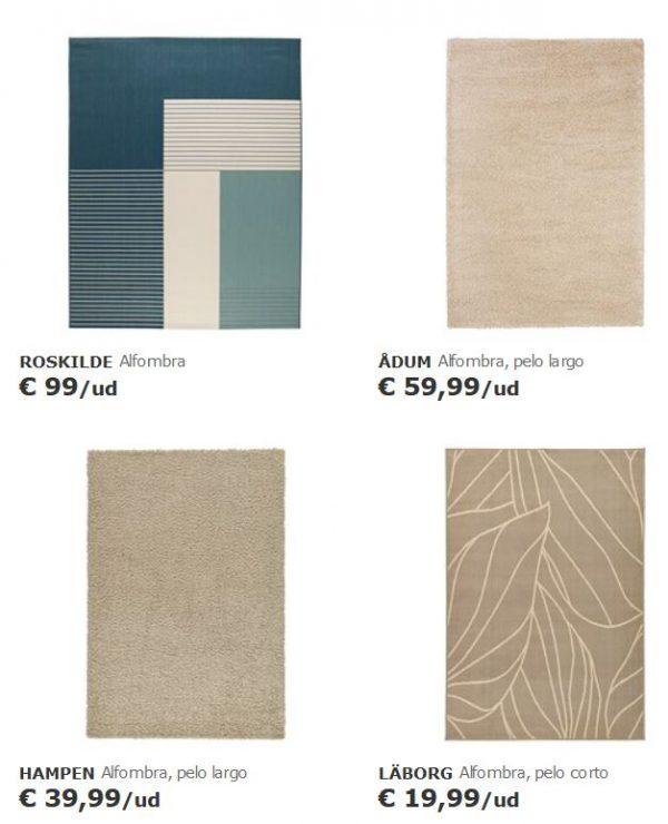alfombras ikea medianas grantes