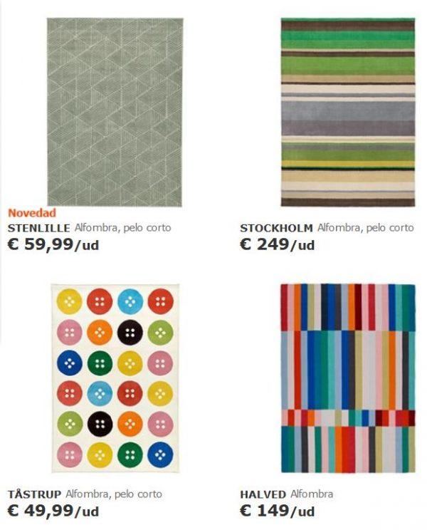 alfombras coloridas ikea