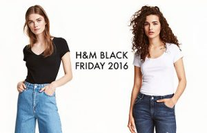 H&M Black Friday 2016