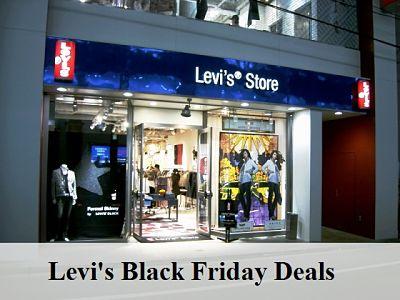 LEVIS Black Friday