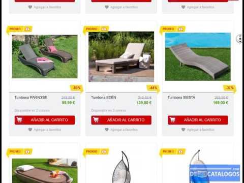 Tumbonas conforama ofertas online cat logo 2017 - Tumbonas conforama ...