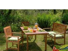 Sillas y mesas CONFORAMA para jardín