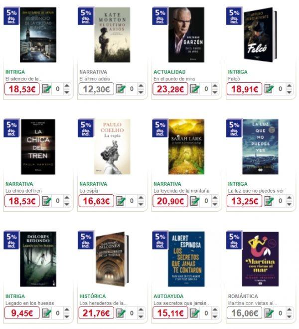 alcampo libros los más vendidos