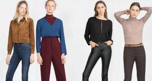 Pantalones de mujer ZARA - Folleto online