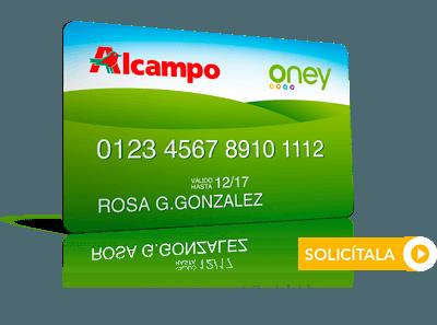 Tarjeta ALCAMPO