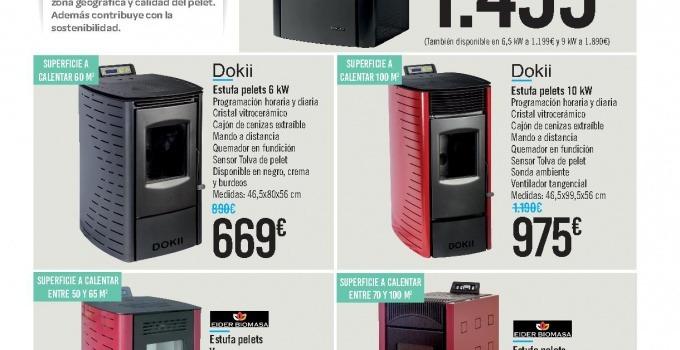 Estufas alcampo cat logo de modelos y precios para este a o - Precios electrodomesticos alcampo ...