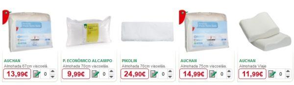 Almohadones y almohadas alcampo cat logo de precios - Cajoneras alcampo ...